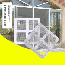 3 шт., самоклеящаяся пленка на окно для ремонта, для дома, против комаров, мух, насекомых, насекомых, для ремонта экрана, наклейки на стену, сетка, экран на окно