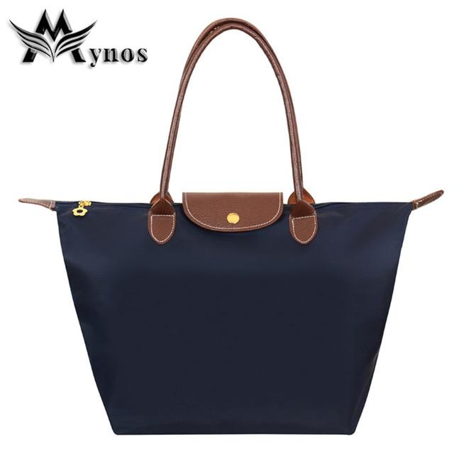 Mynos Fashion Brand Capacity Women Handbag Shouder Bag Ladies Female Designer Me