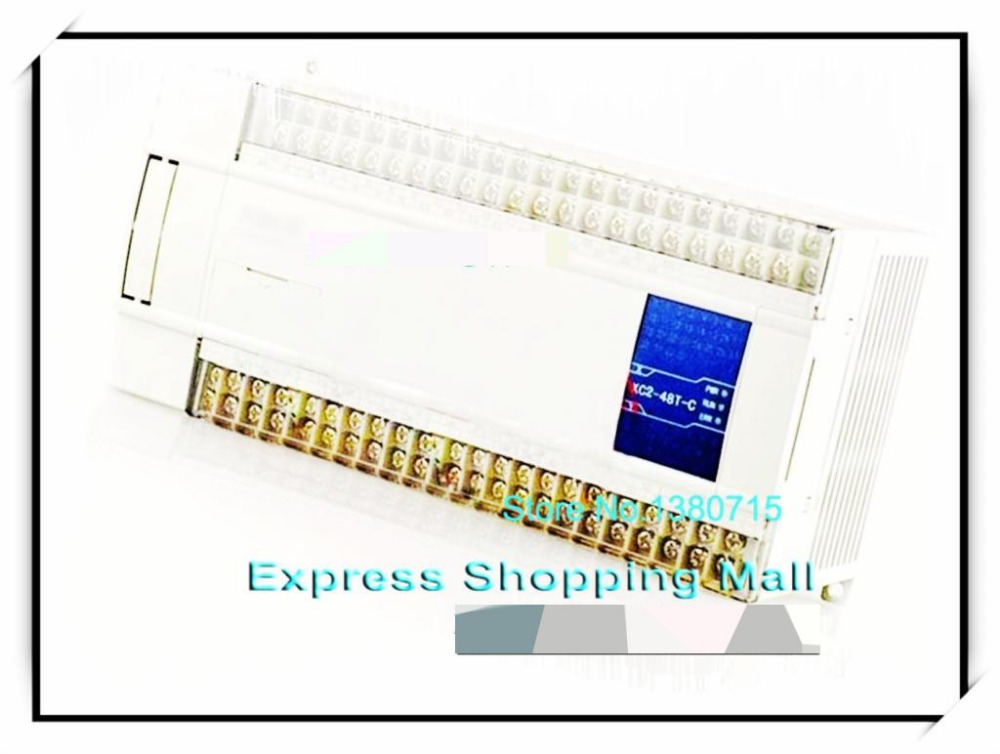 цена на New Original 28point NPN input 20point transistor output XC2-48T-E PLC DC24V cable