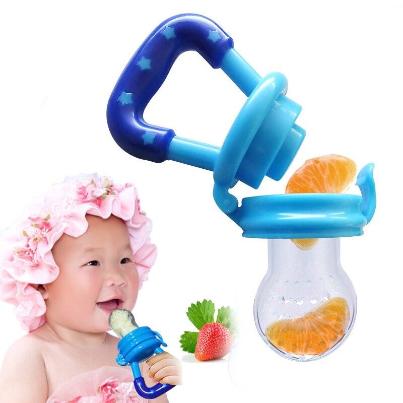 2017 Hot Sale Chupeta Chupetas 4 Colors Baby Silicone Safety Pacifier Nipple Feeder Fresh Food Fruit Feeding Kids Infant Dummy