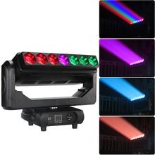 7x40w led moving head BAR zoom beam wash concert stage  light sharpy beam цена 2017
