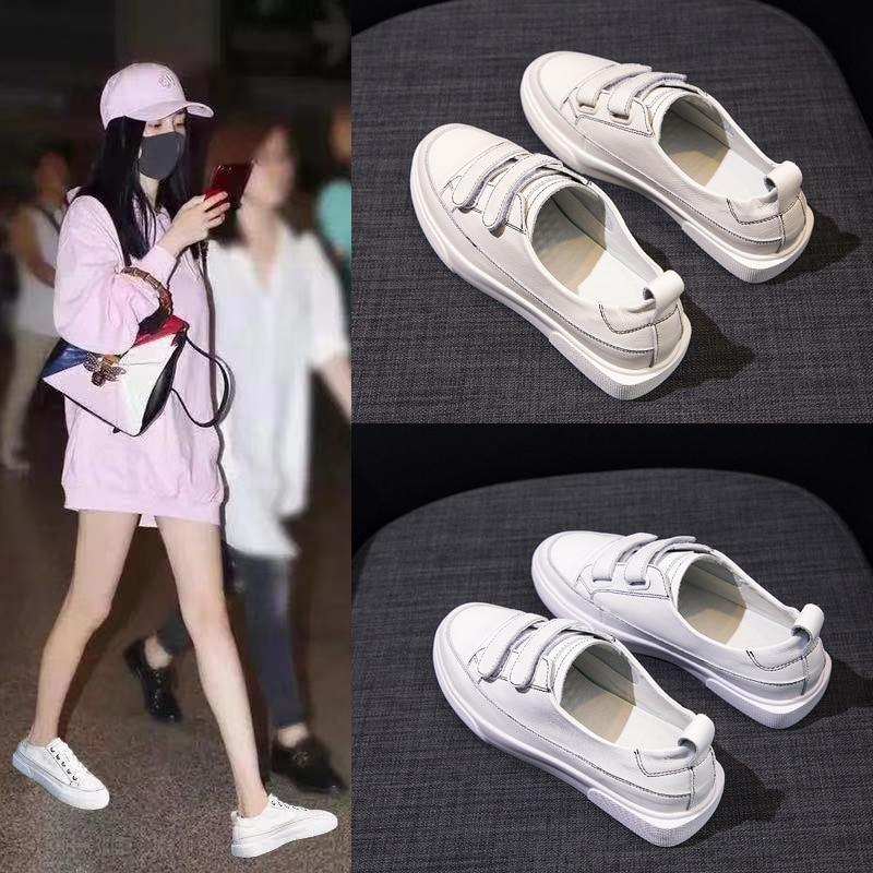 MFU22   Casual flat white shoes womens wild lace-up shoes 2019 new low-cut base shoes JIANGMFU22   Casual flat white shoes womens wild lace-up shoes 2019 new low-cut base shoes JIANG