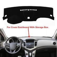 Для Chevrolet CRUZE 2009-2015 приборной панели крышки Dashmat коврик авто козырек от солнца инструмент ковер наружное автомобиль для укладки аксессуары