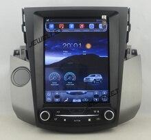 """10.4 """"tesla estilo vertical da tela android 6.0 Quad core GPS de Navegação de rádio Do Carro para Toyota RAV4 2006-2012"""