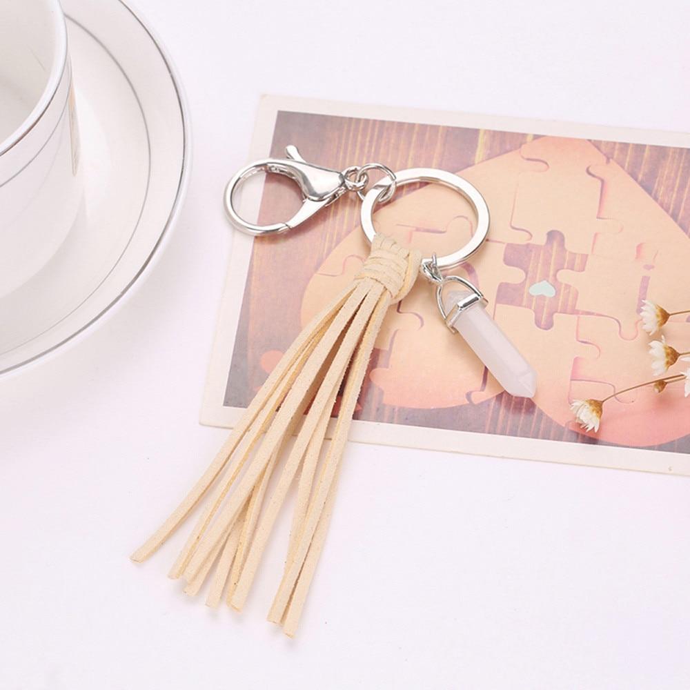 2017 New fashion! Key Chain Accessories Tassel Key Ring Car Keychain Handbag Bag Accessories Rhinestone Keychain Pendant se212
