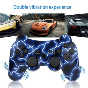 Image 2 - Bevigilac controle duplo bluetooth wireless, console de jogo, joystick para sony playstation ps 2 3 ps3 ps2 acessórios
