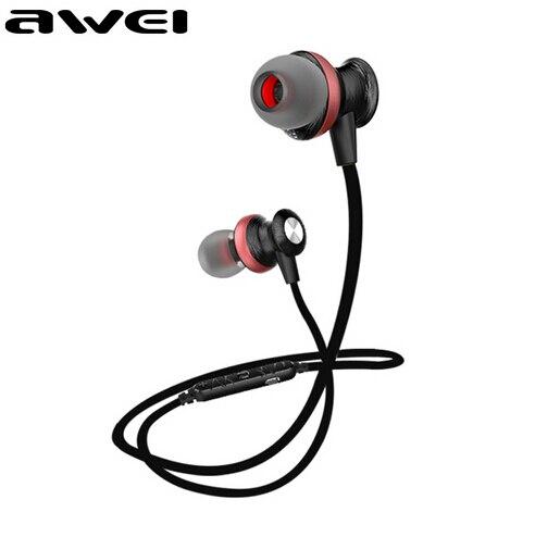 Original awei a980bl bluetooth esporte sem fio fones de ouvido fone de ouvido fone de ouvido fone de ouvido écouteur auriculares para o telefone à prova d' água