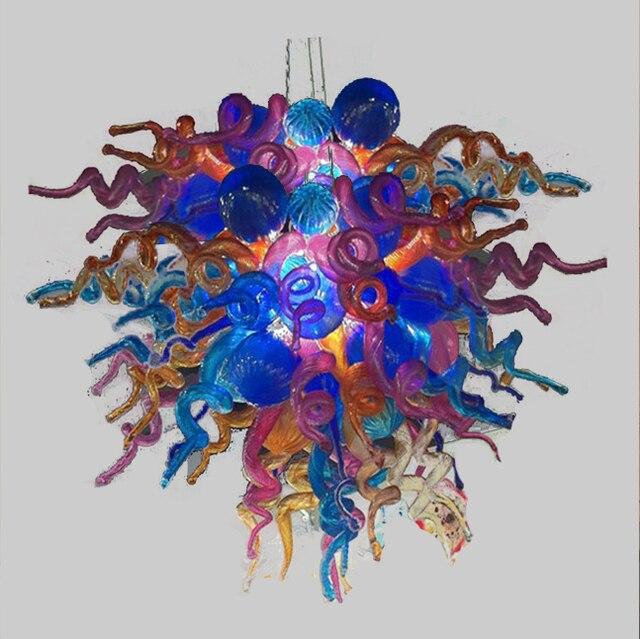 Led bulbs art decor modern crystal coloured blown glass custom made led bulbs art decor modern crystal coloured blown glass custom made chandelier aloadofball Image collections