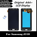 100% tested lcd display with touch digitizer screen For Samsung for Galaxy J510 J510FN J510F  free shipping+tracking No.