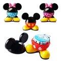 4 cores Mickey assento Perfume aromatizador Mickey carro ambientador de ar do carro sabor dos desenhos animados no carro novo auto purificador de ar fresco carro perfume