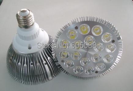 18w Epistar/Bridgelux chips high power led par38 spot lighting bulb with isolated powerful driver AC100-240v 40pcs/Lot wholesale