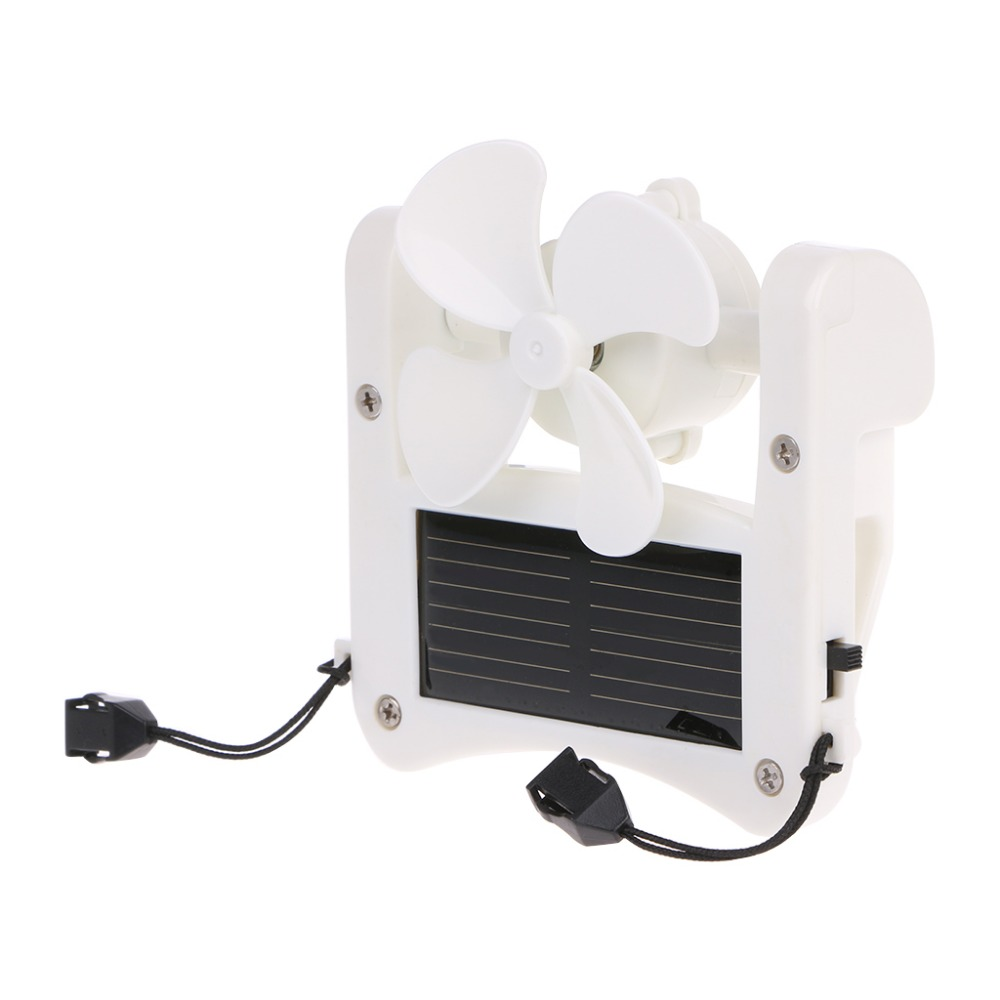 Mini Solar Power/USB Portable Cap Hat Clip On Fan Hanging Desktop Camping Cooler  Mini Solar Power/USB Portable Cap Hat Clip On Fan Hanging Desktop Camping Cooler