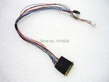 """I PEX 20453 20455 40pin 1ch 6 비트 LVDS 케이블 For7/8/10.1/11.6/12.5/13.3/14/15.6 """"LCD/LED 패널 디스플레이"""