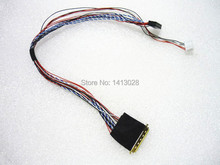 "I PEX 20453 20455 40pin 1ch 6 bit LVDS kablo For7/8/10.1/11.6/12.5/13.3/14/15.6 ""LCD/LED Panel ekran"