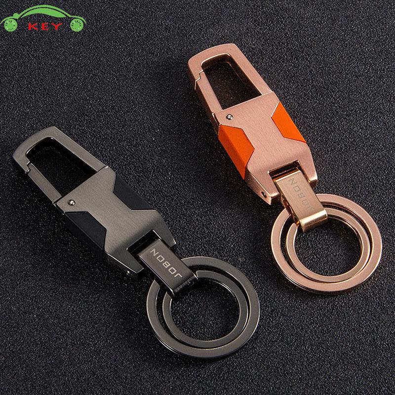 Creative Car Model With Led Light Keychain For Business Gift Metal Auto Key Rings For Bmw Ferrari Opel Jeep Honda Kia Ford Skoda Key Rings