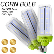 E14 Corn LED Lamp 110V E27 Bulb 20W Ampoule 220V Light 10W 15W Bombilla No Flicker 5736 SMD High Power