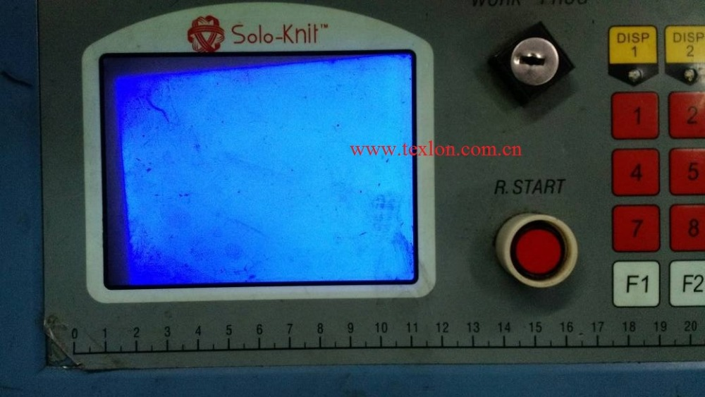 Solo-Knit Socks Machine Use Blue Display HGO320