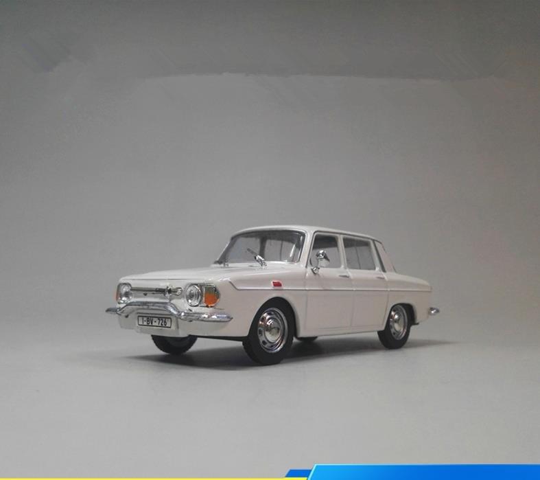 Alta simulação renault modelo de carro, 1: 43 escala liga grande carro modelo brinquedos, peças fundidas de metal, coleção brinquedo veículo, atacado
