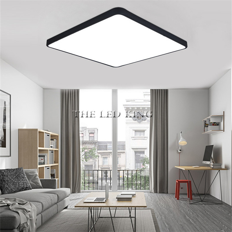 Led Ceiling Light Modern Lamp Living Room Lighting Fixture Bedroom Kitchen Surface Mount Flush Panel Remote Control Back To Search Resultslights & Lighting