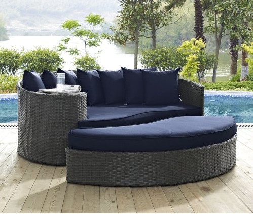 Online Shop Factory Direct Sale Discount Wicker Patio Furniture 2 Piece  Outdoor Daybed Set   Aliexpress Mobile