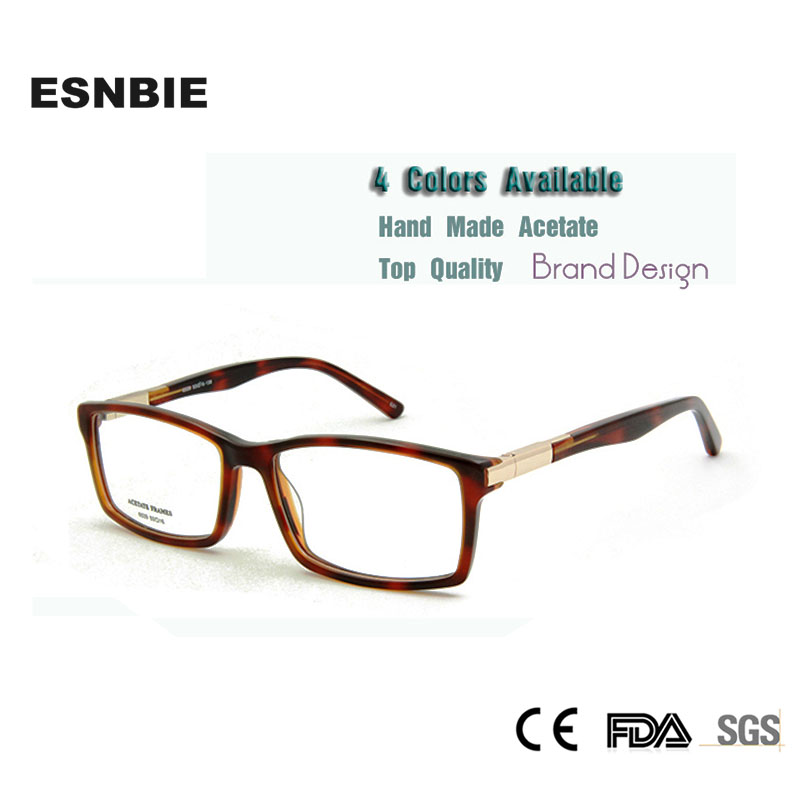 Eyewear & Accessories Classic Rectangular Shape Multi Nature Color Men Eyeglasses Hand Made Glasses Frame