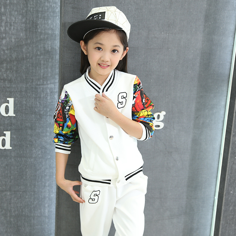 f03b09e08 Autumn Winter Baby Boy Girl Baseball Jersey Set Toddler Kids Clothes Next  Vetement Enfant Minnie Sport Children Clothing Suit-in Clothing Sets from  Mother ...