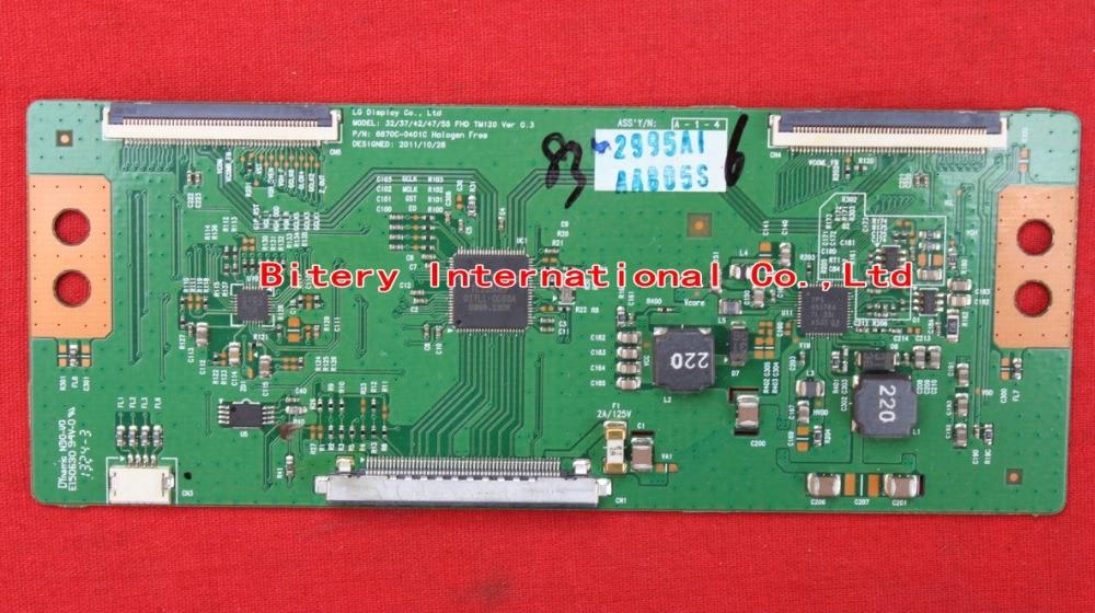 T-CON Board LC 37 42 47 55 FHD TM120 VER 0.2 6870C-0401B 6870C-0401C For LG LED LCD TV Logic Board