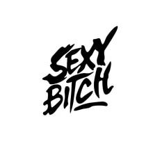Sexy Bitch Funny Car Window Decal Bumper Sticker Jdm Turbo Hot Wife Rear