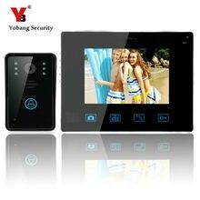 Yobang Security-9 Inch 0.3 MP LCD Monitor Video Record Door Phone System Doorbell 700 Line Wireless Video Intercom CMOS Camera