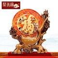 Primera palabra bendición adornos salón feng shui adornos casa nueva decoración del hogar artesanía regalos creativos