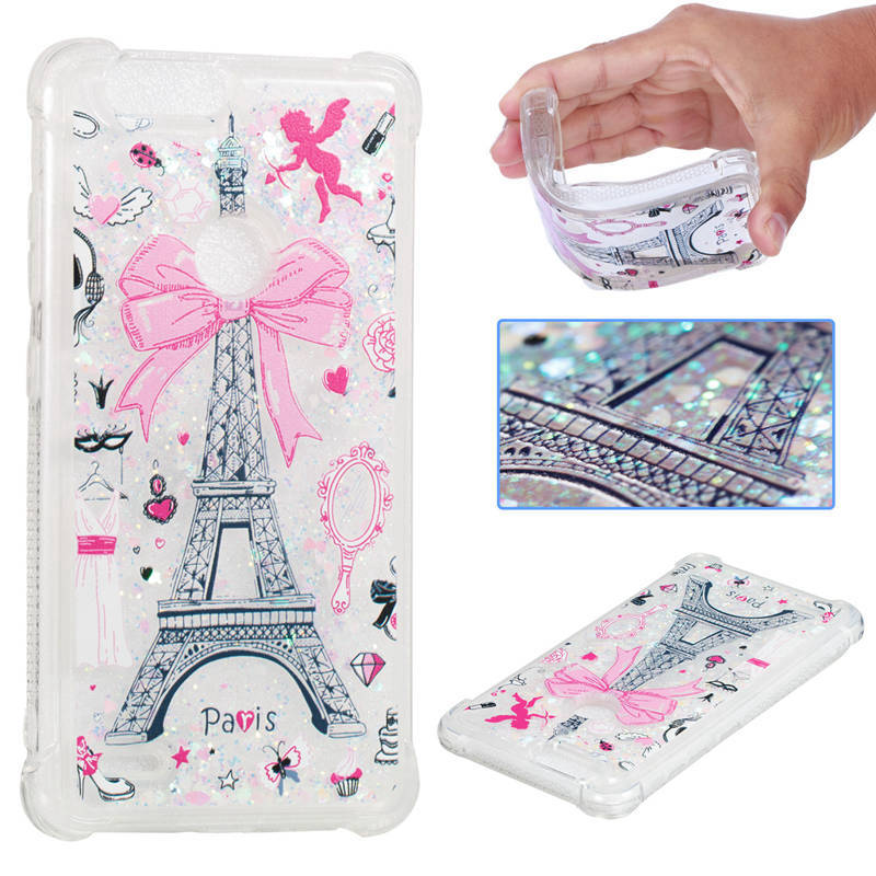 Dynamic Liquid Glitter Sand Case For Zte Blade Zmax Pro 2 /sequoia Half-wrapped Case Phone Bags & Cases Z982 6.0 Case Printing Cover 3d Stars Anti-knock Case Special Buy