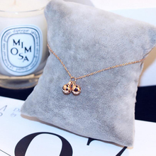Chain Bells Sound Gold Metal Anklet Fashionable Round Bead Bell Rose Gift Slender Sufficient