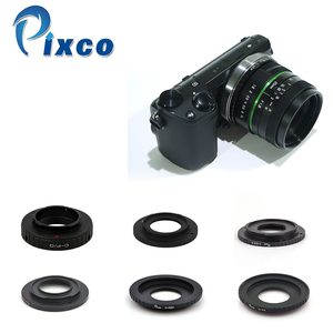 Image 2 - Venes 25mm f/1.8 APS C Lens+Lens Hood+Macro Ring+16mm C Mount adapter Suitable for a variety of cameras For Panasonic