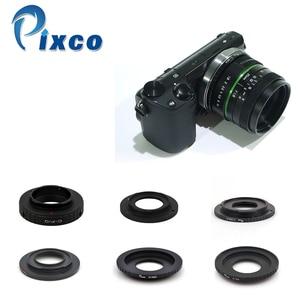 Image 2 - Venes 25mm f/1,8 APS C lente + parasol de lente + anillo Macro + adaptador de montaje de 16mm C adecuado para una variedad de cámaras para Panasonic