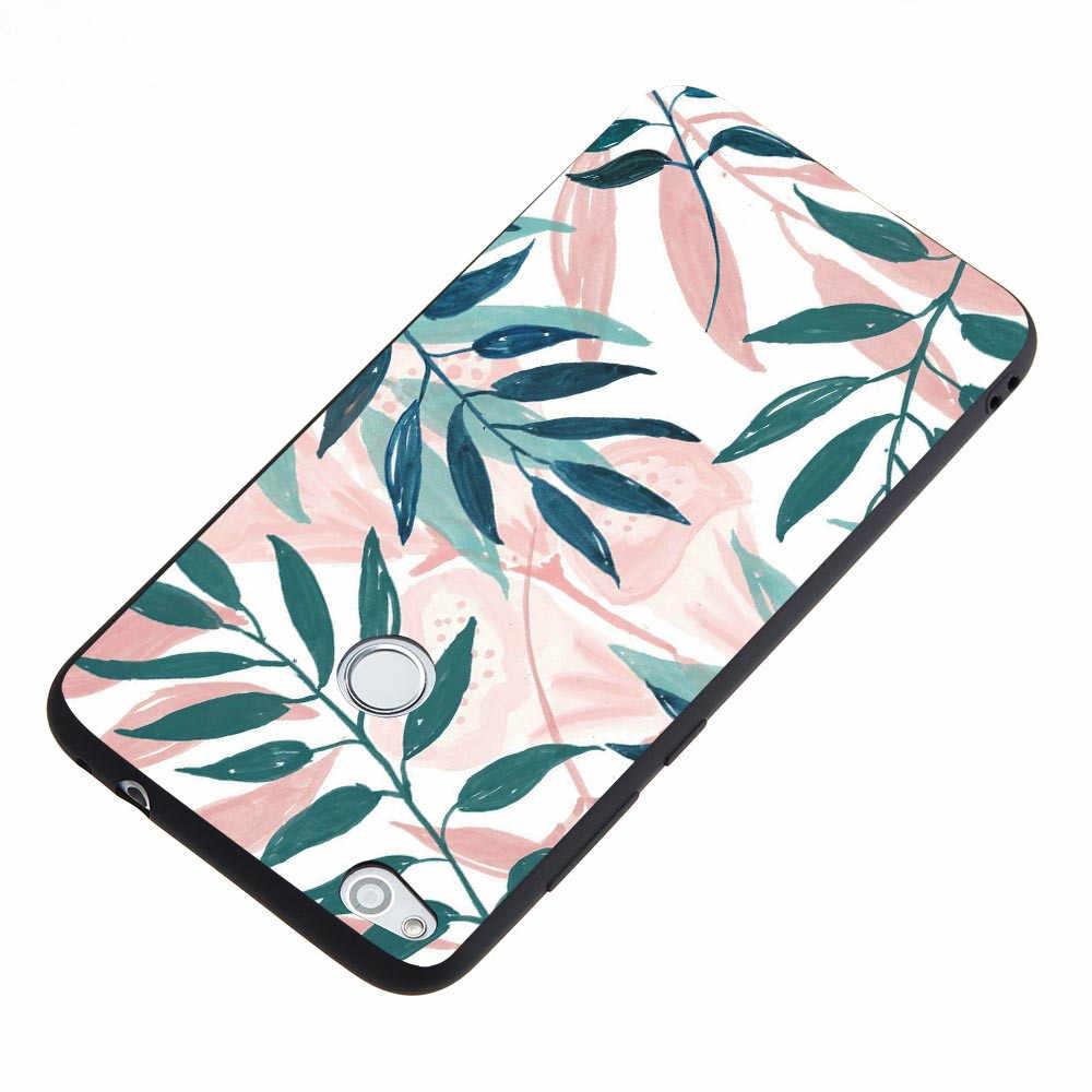 Shockproof Phone Bag Cases For Huawei G10 GR3 GR5 2017 Honor 9i 9 9 Lite Honor 10 V10 V9 Play Flowers Marble Case Covers Funda