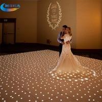 12X12 Feet Star Light Make Dmx Led Dance Floor Disco Dance Floor With Flight Case