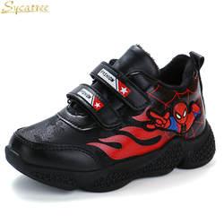 Juyouki камуфляж Детские зимние штаны Повседневная обувь для мальчиков и девочек Человек-паук спортивные кроссовки обувь дети снег сапоги
