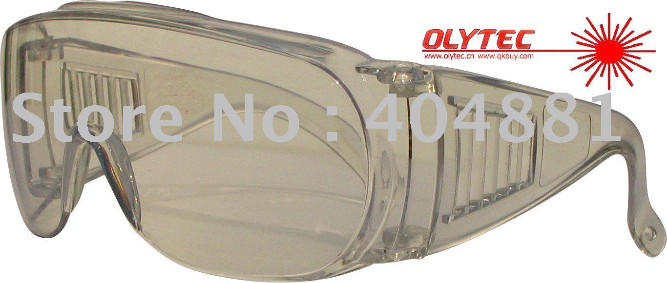 Laser safety glasses for 10600nm Co2 laser , CE O.D 4+ high V.L.T%