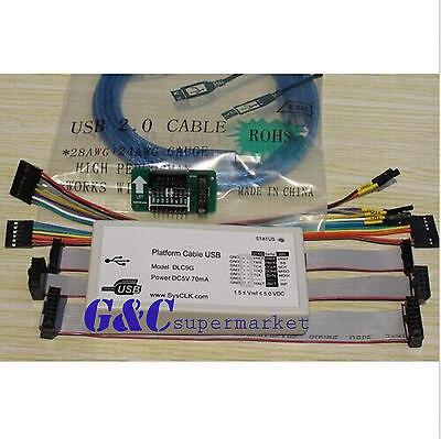Câble de téléchargement USB plate-forme Jtag programmeur FPGA CPLD c-mod XC2C64A