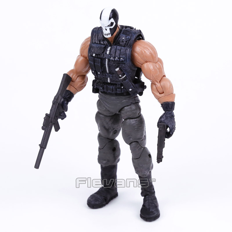 Brock Rumlow Crossbones PVC Action Figure Collectible Model Toy 7 18cm neca planet of the apes gorilla soldier pvc action figure collectible toy 8 20cm