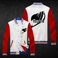 New Japan Anime Fairy Tail Hoodie Fashion Men Baseball Sweatshirt Spring Autumn Jacket Coat