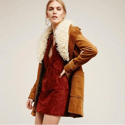 Novos casacos de inverno das mulheres venda quente do falso gola de pele longos casacos único breasted magro casacos retro elegante quente básico jaquetas