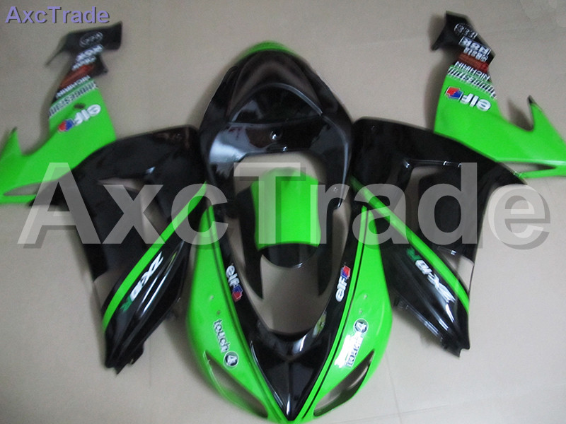 Bodywork Moto Fairings FIT For Kawasaki Ninja ZX10R ZX-10R 2006 2007 06 07 Fairing kit Custom Made High Quality ABS Plastic C480 black moto fairing kit for kawasaki ninja zx14r zx 14r zz r1400 zzr1400 2006 2007 2008 2009 2010 2011 fairings custom made c549