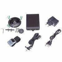 External Solar Powered Panel Charger Power Supply for Suntek Hunting Camera HC300M HC350M HC550M HC550G HC700G