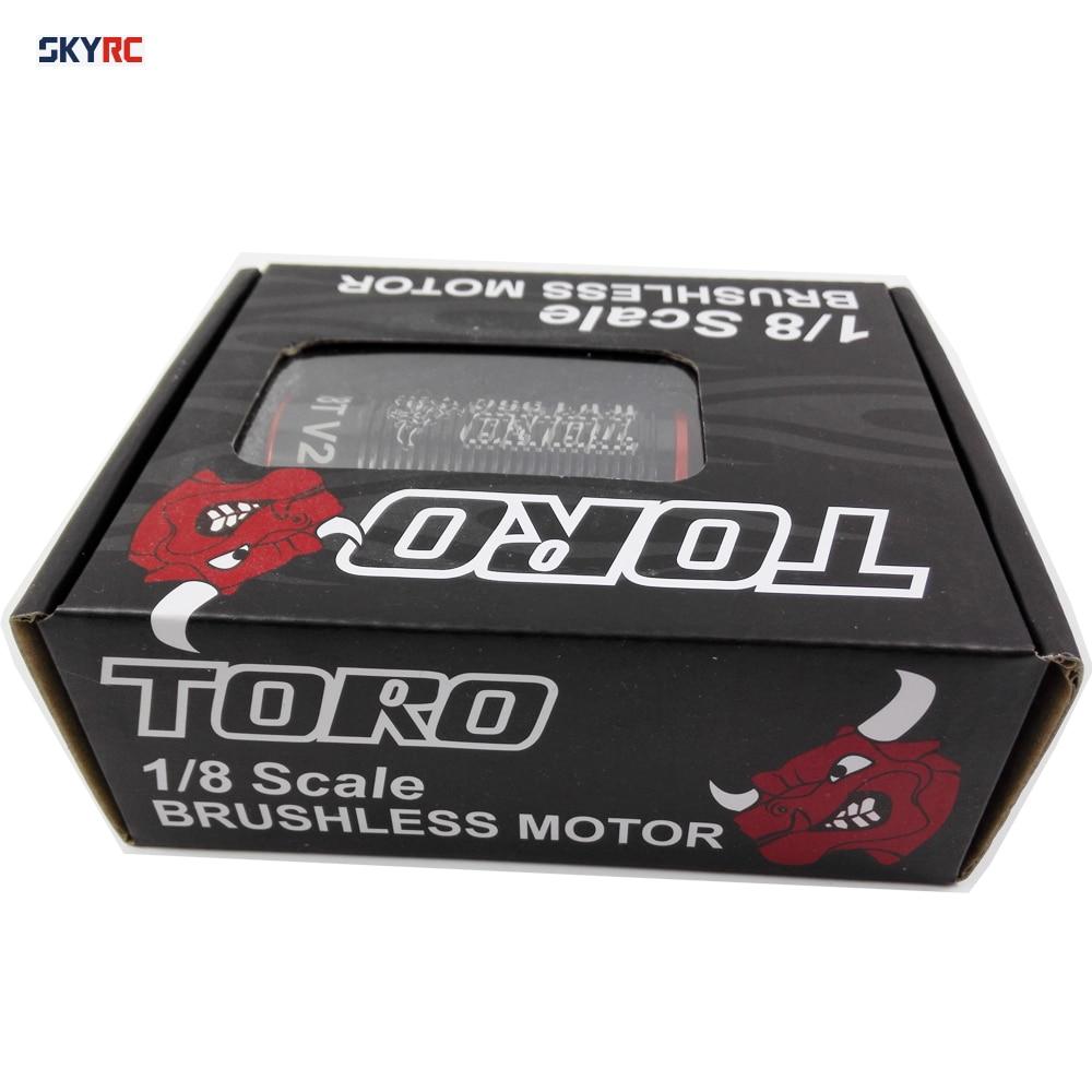 SKYRC brushless motor 2150KV 2350KV 2100kv 2400kv 1950kv TORO X8 PRO X8 X8T 5mm shaft rc 1/8 1 8 scale turggy truck car parts цены онлайн