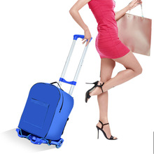 Travel Multifunctional Portable Trolley Cart