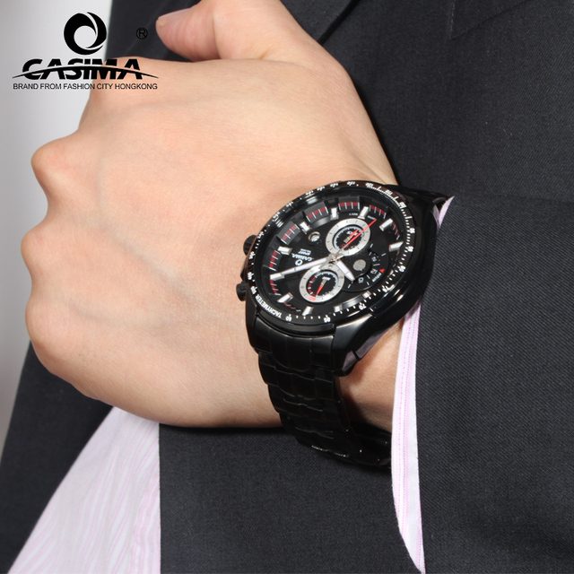 Mens Watches Top Brand Luxury Casima Men Military Sport Wristwatch Chronograph Army Quartz Watch Clock 2017 Relogio Masculino