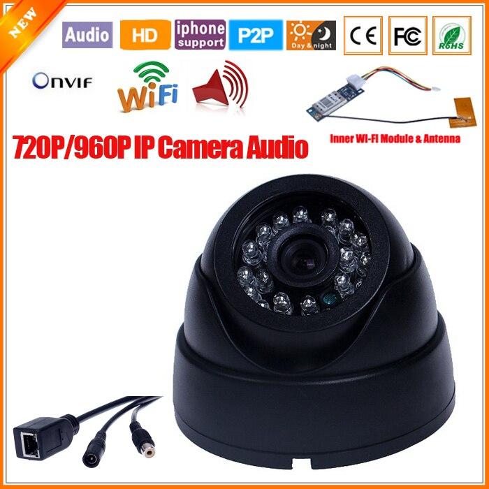 bilder für Ip-kamera Drahtlose Inneren Wi-fi-modul Mit Externes Mikrofon IP Wifi Kamera Audio Innenraumüberwachung Handy Wolke P2P