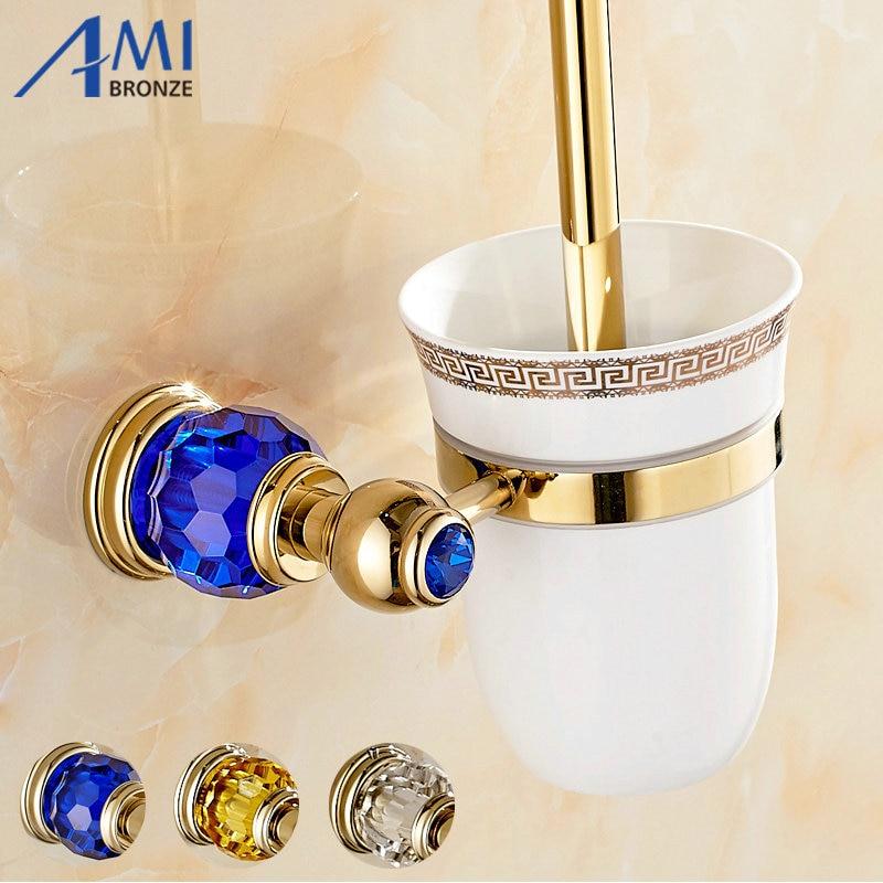Stunning Accessoires Sanitaires Cristal Et En Laiton Gallery ...