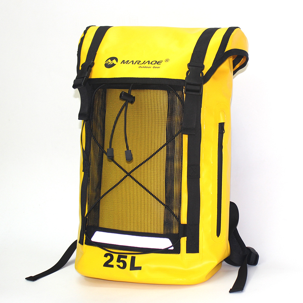 25L Waterproof Bag PVC Dry Sack Outdoor Camping Climbing Hiking Shoulder Bag Pack River Tracing Rafting